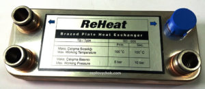 Plates and Gaskets for ReHeat Heat Exchangers