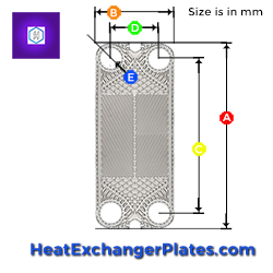 Heat Exchanger Plate Dimensions